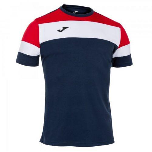 Crew IV T-shirt Navy/Red