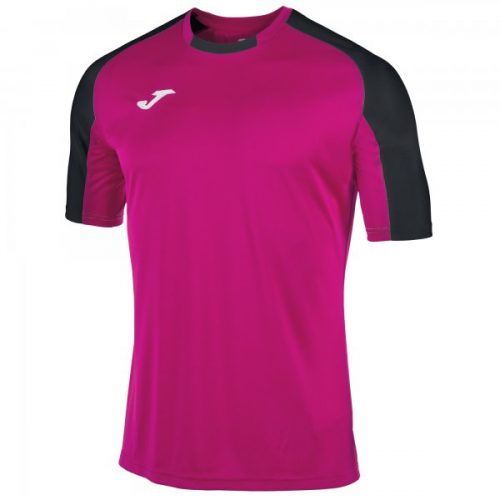 Essential Short Sleeve T-shirt Magenta:Black