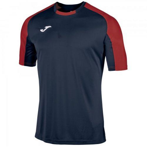 Essential Short Sleeve T-shirt - Navy/Red