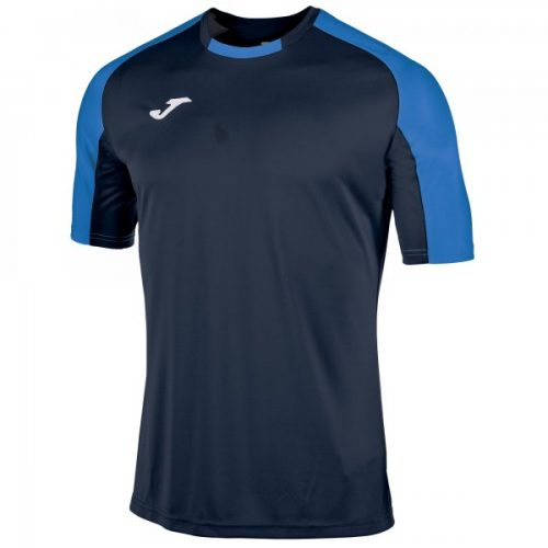 Joma Essential Short Sleeve T-shirt Navy/Royal