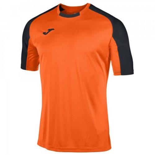 Joma Essential Short Sleeve T-shirt Orange/Black