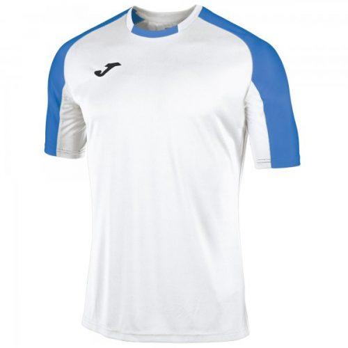 Essential Short Sleeve T-shirt - White/Royal