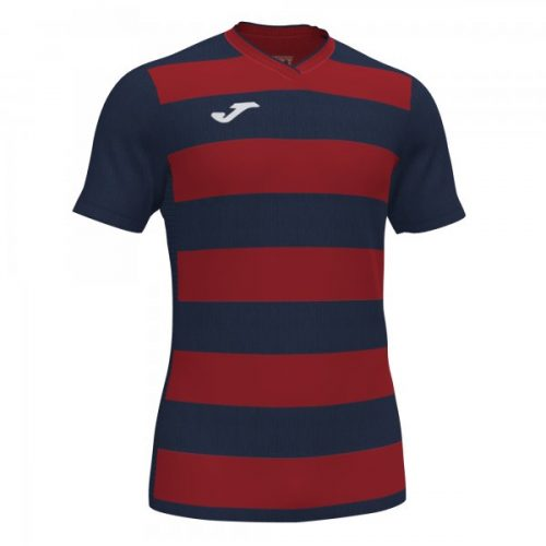 Europa IV T-shirt - Navy:Red