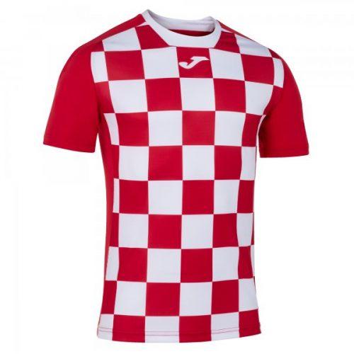 Joma Flag II T-shirt Red/White