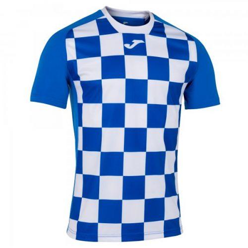 Joma Flag II T-shirt Royal White