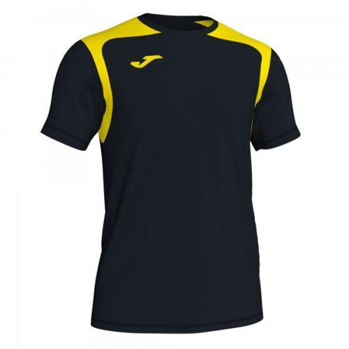 Joma Championship V T-shirt Black/Yellow