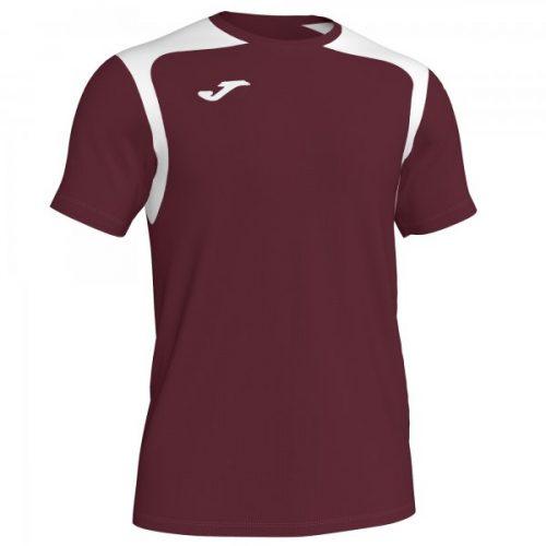 Joma Championship V T-shirt Burgundy/White