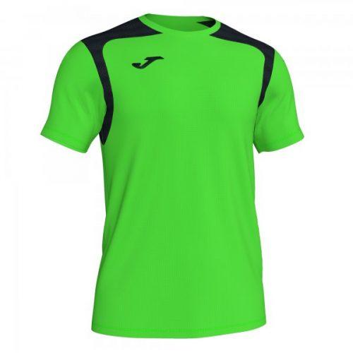 Joma Championship V T-shirt Fluorescent Green/Black