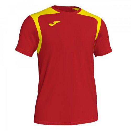 Joma Championship V T-shirt Red/Yellow