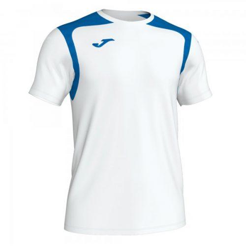 Joma Championship V T-shirt White/Royal