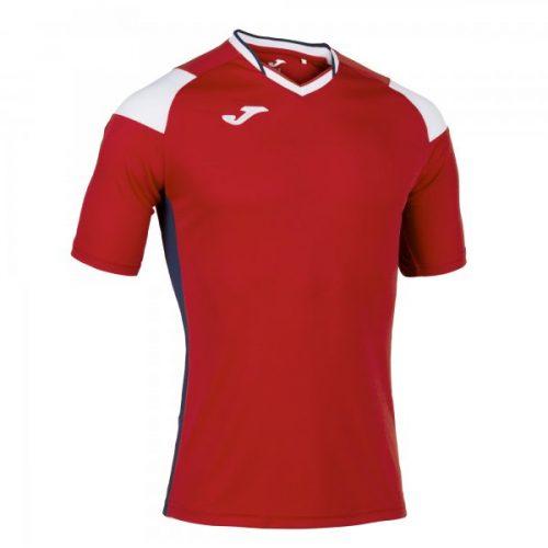 Joma Crew III T-shirt Sky Red/White
