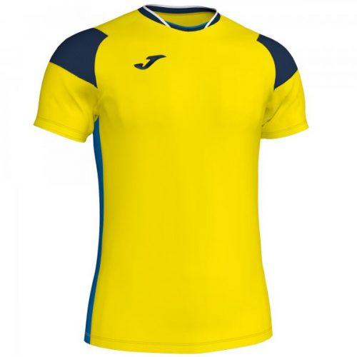 Joma Crew III T-shirt Sky Yellow/Navy