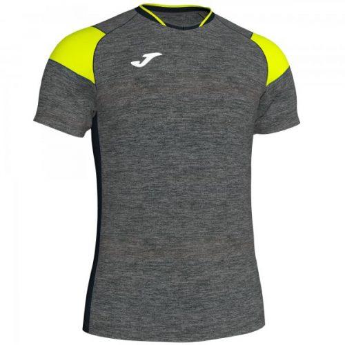Joma Crew III T-shirt Yellow/Grey Melange