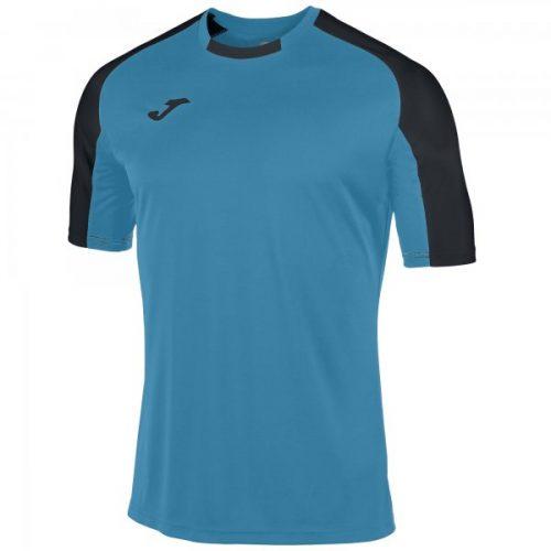 Joma Essential Short Sleeve T-shirt Turquoise/Black