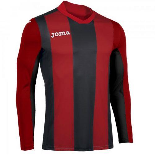 Joma Pisa Long Sleeve Jersey Black/Red