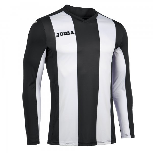 Joma Pisa Long Sleeve Jersey Black/White