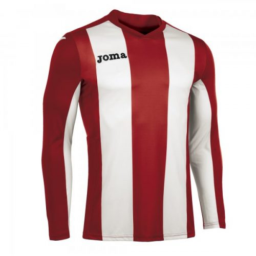Joma Pisa Long Sleeve Jersey Red/White