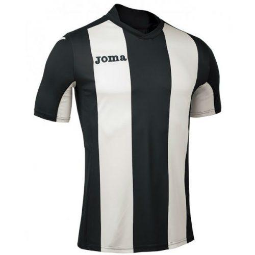 Joma Pisa Short Sleeve Jersey BlackWhite