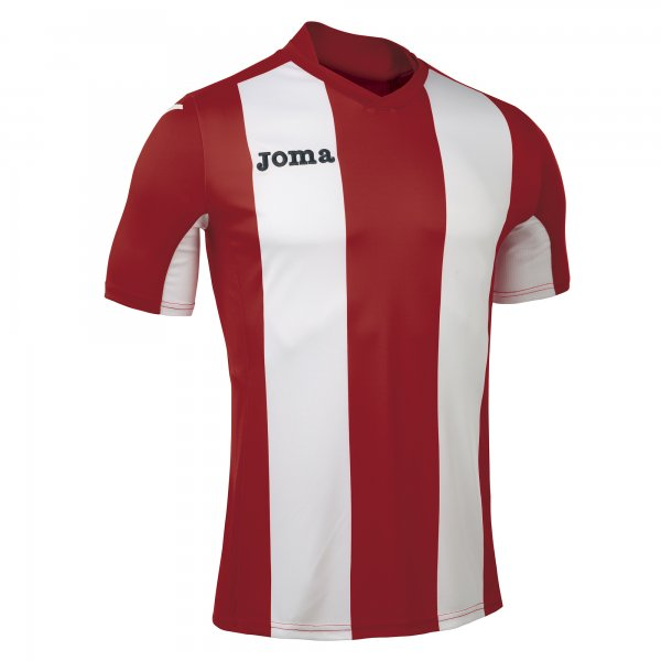 Joma Pisa Short Sleeve Jersey Red/White