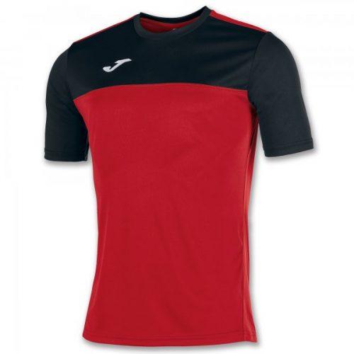 Joma Winner Short Sleeve T-shirt Black/Red
