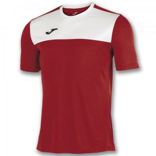 Joma Winner Short Sleeve T-shirt Red/White
