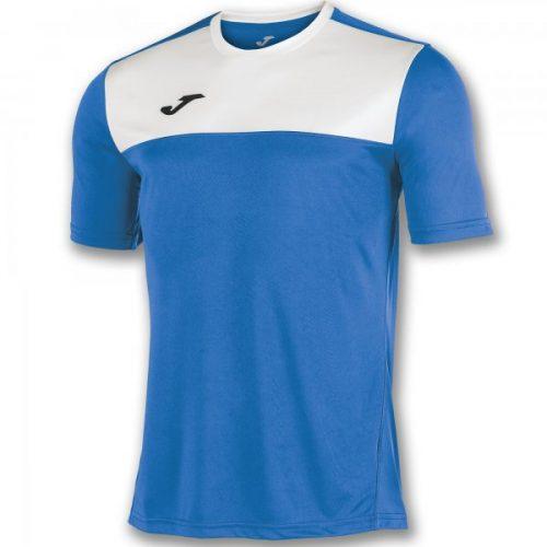 Joma Winner Short Sleeve T-shirt Royal/White