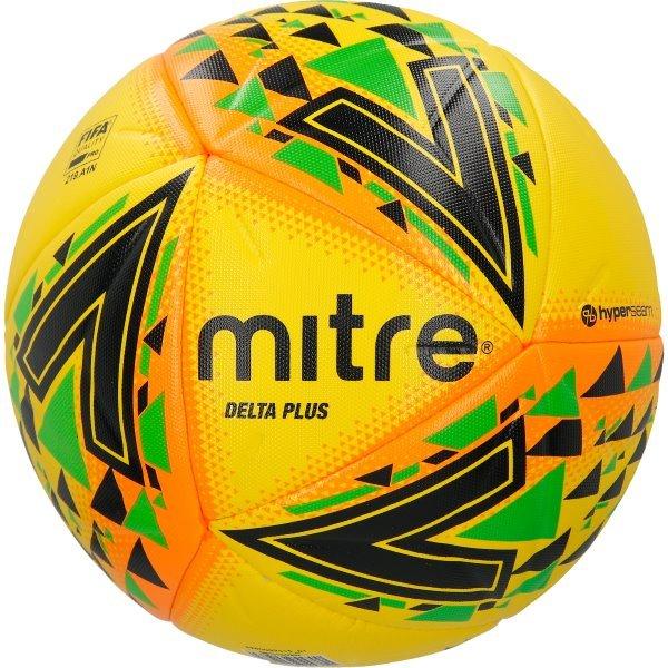 Mitre Delta Plus Ball Yellow
