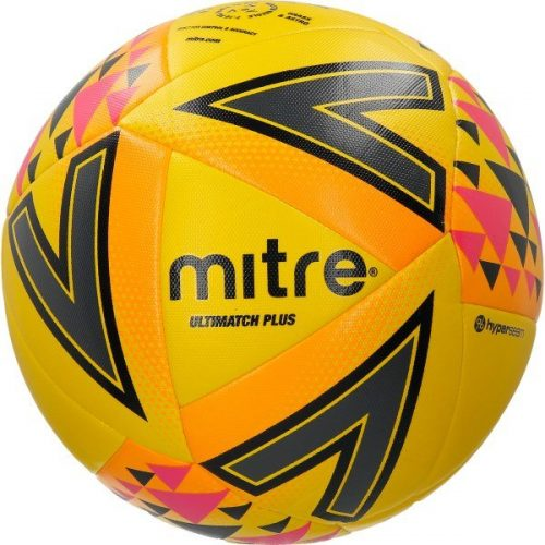 Mitre Ultimatch Plus Ball Yellow
