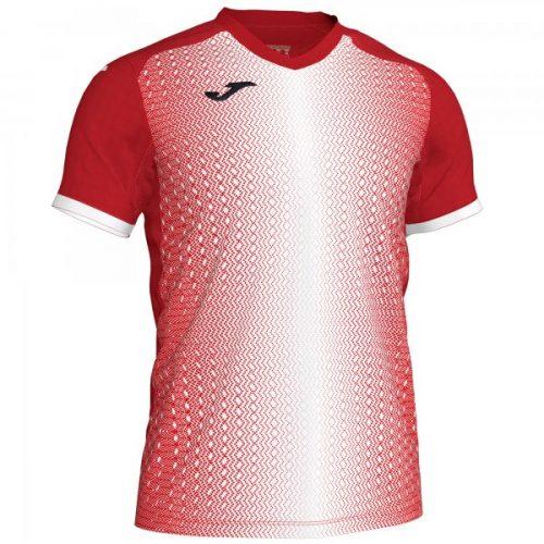 Joma Supernova T-shirt Red/White