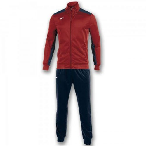 Joma Academy Tracksuit Red