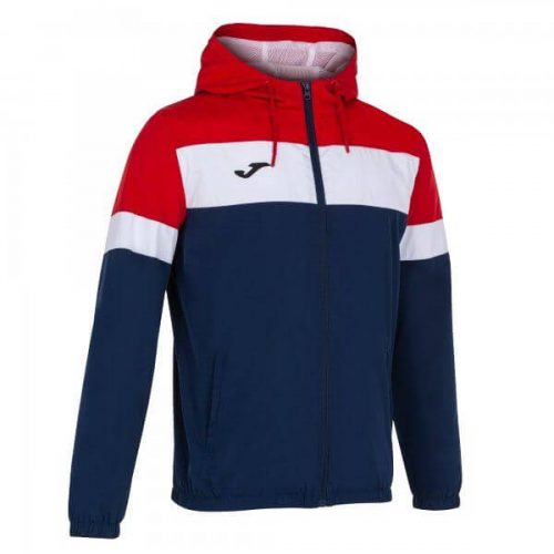 Joma Crew IV Raincoat Red/Navy