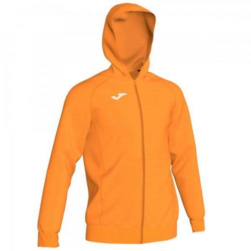 Joma Menfis Hooded Jacket Fluorescent Orange