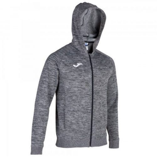 Joma Menfis Hooded Jacket Grey Melange