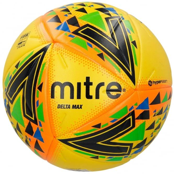 Mitre Delta Max Ball Yellow