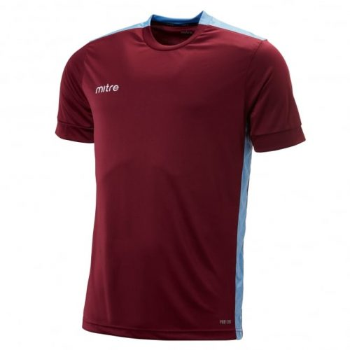 Charge T-Shirt Maroon & Sky
