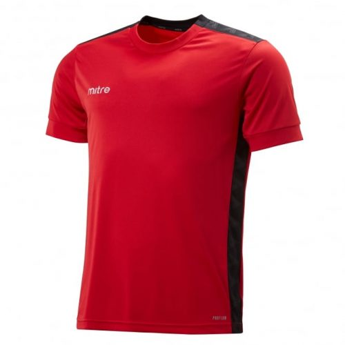 Charge T-Shirt Red & Black