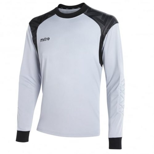 Guard Goalkeeper Top Silver & Black