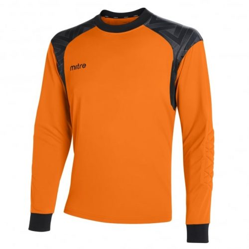 Guard Goalkeeper Top Tangerine & Black
