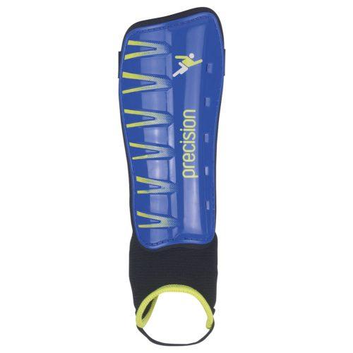 Precision Pro Shin & Ankle Pads blue