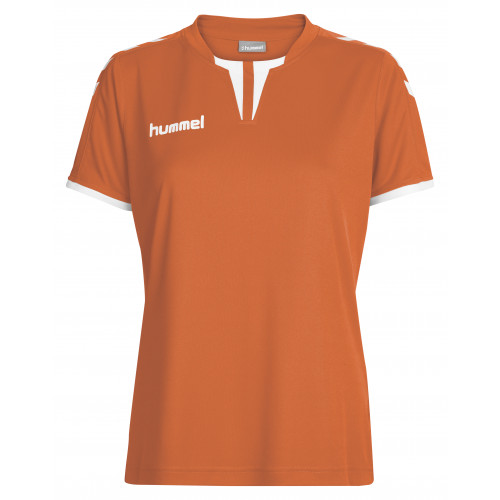 Hummel core poly top tangerine