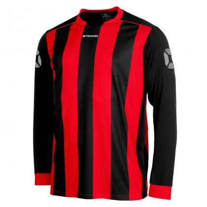 stanno BRIGHTON LS RED BLACK