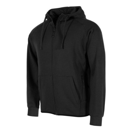 stanno Ease hooded jacket black