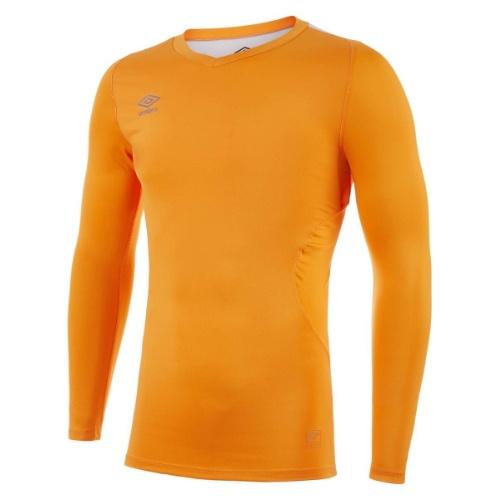 Umbro Elite V neck baselayer amber