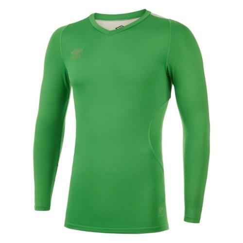 Umbro Elite V neck baselayer green