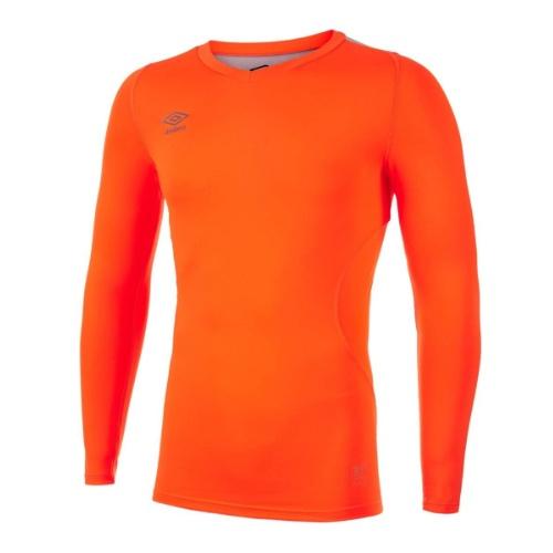 Umbro Elite V neck baselayer orange