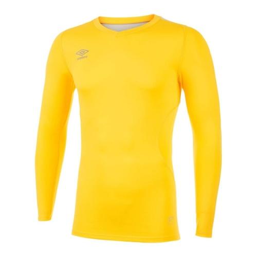 Umbro Elite V neck baselayer sv yellow