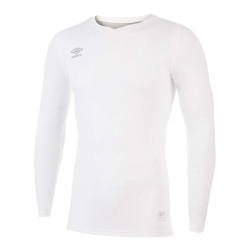Umbro Elite V neck baselayer white