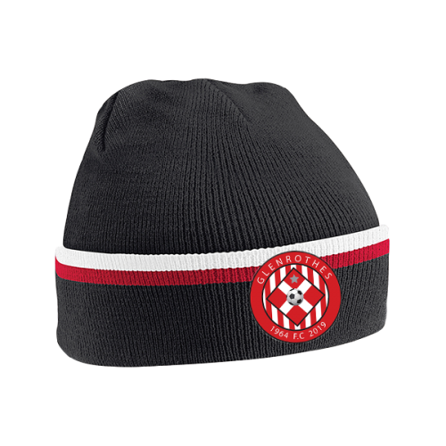 Glenrothes Red White Trim Beanie