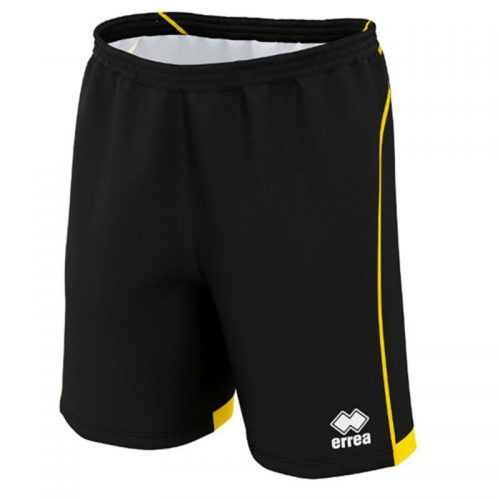 errea Transfer Shorts black & yellow