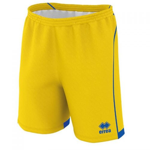 errea Transfer Shorts yellow & Blue